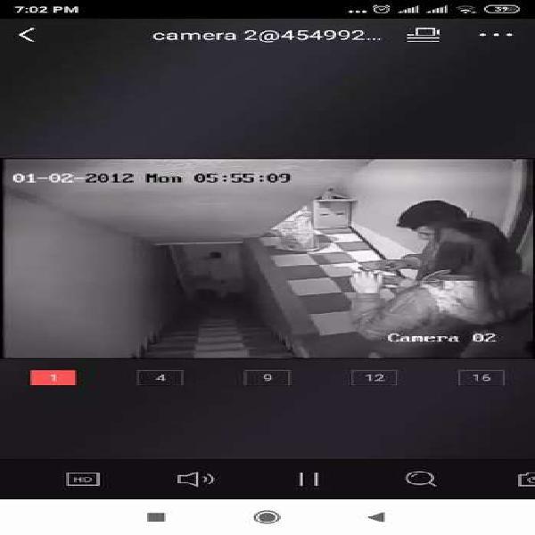 Combo cámaras de vigilancia 720p
