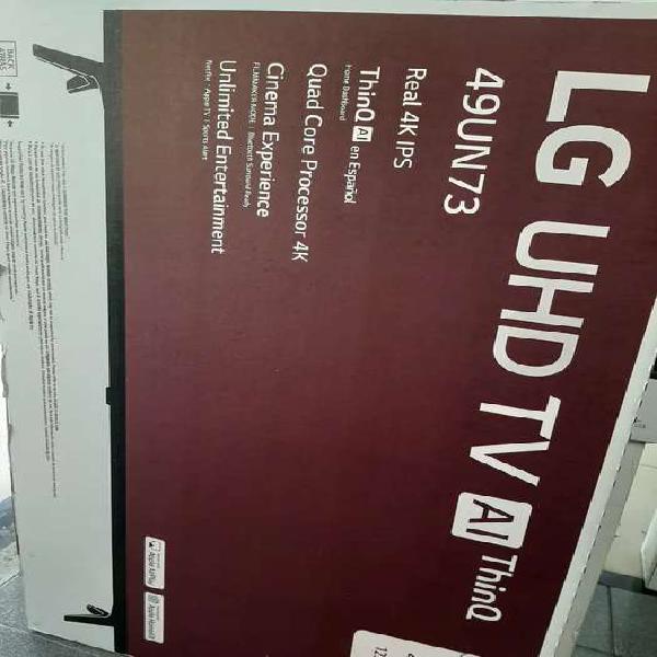 Led 49 pulgadas lg 4k smart tv modelo 2020