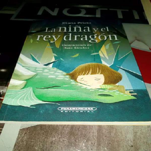 Libro la niña y el rey dragon