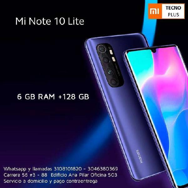 Mi note 10 lite - 128 gb - teléfonos nuevos y con garantía