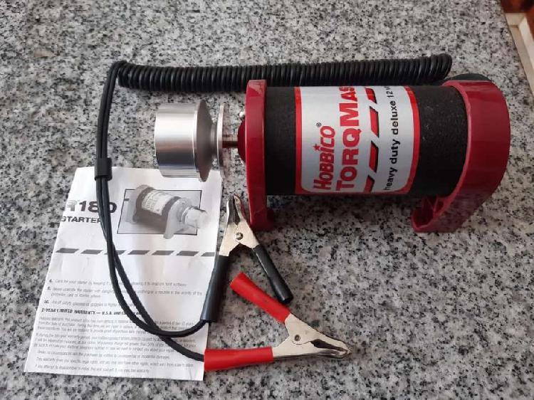 Starter motor helicóptero rc kit