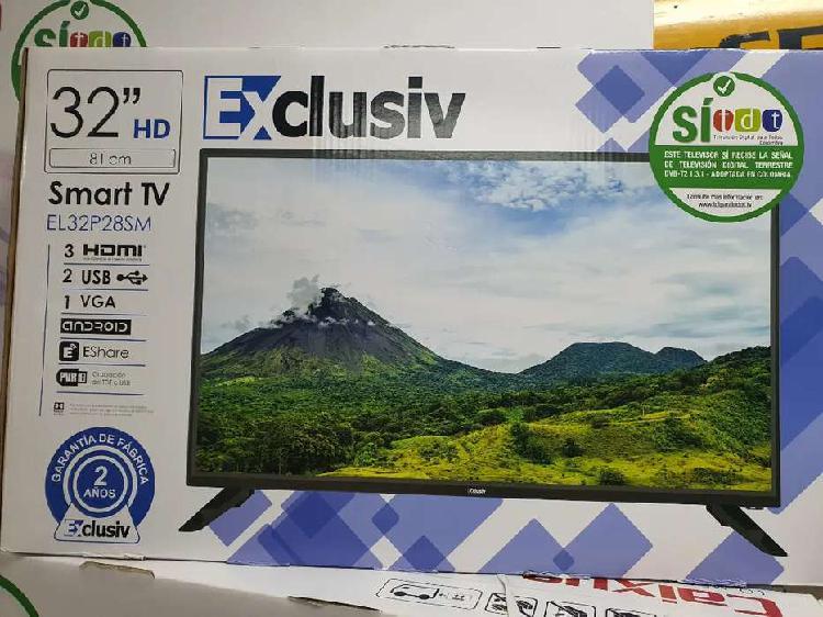 """Tv led exclusiv 32"""" nuevo"""