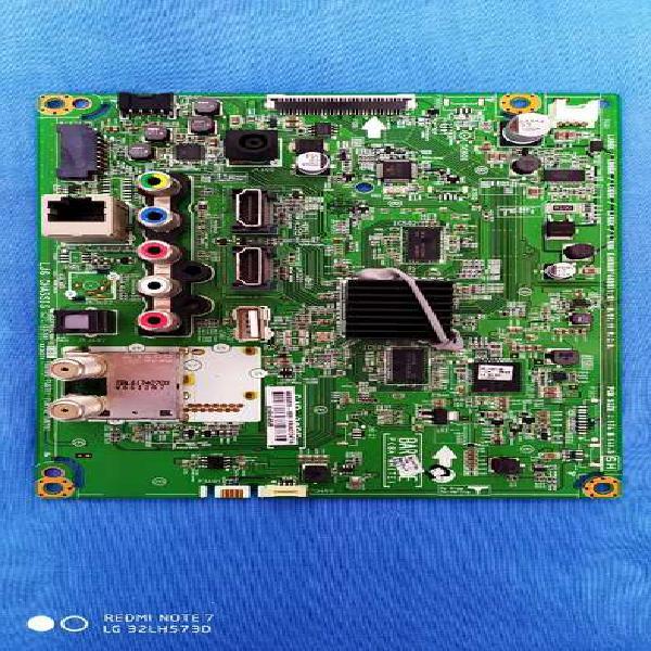 Vendo tarjeta main tv lg led 32lh573d