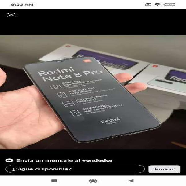 Xiaomi redmi note 8 pro 128 gb - teléfonos nuevos y con