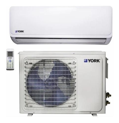Aire acondicionado inverter minisplit york 115v/12.000btu/h