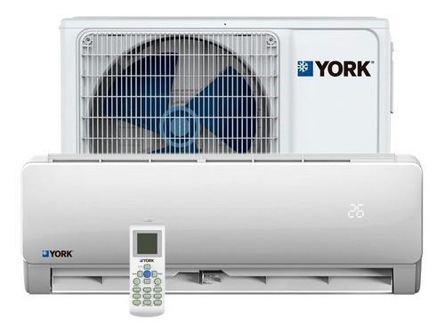 Aire acondicionado minisplit york inverter 18000btu