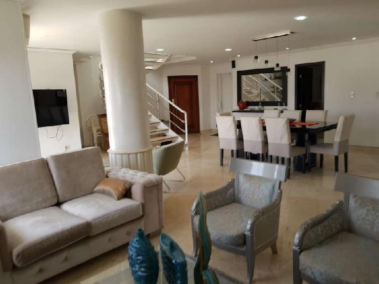 Apartamento en venta altos de riomar. pent house excelente