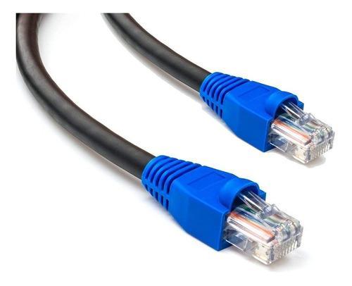 Cable utp cat6 cca exterior giga internet ponchado x metro
