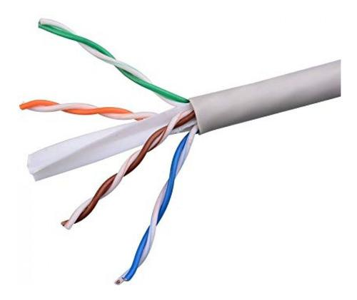 Cable utp cat6 cca internet gigabit ponchado x metro