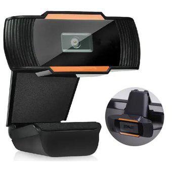 Camara web pc videoconferencia hd 480p - negra diseño