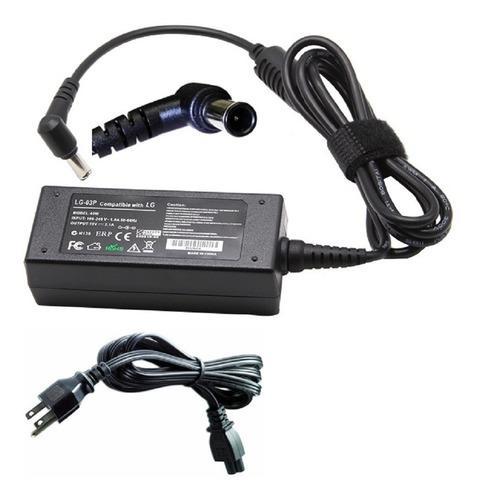 Cargador adaptador monitor lg 19v 2.1a 40w punta 6.5x4.4mm