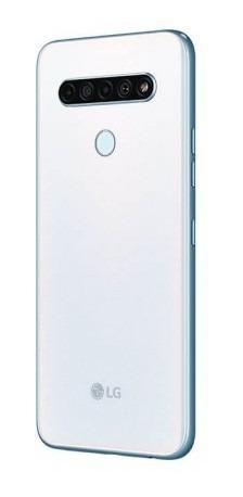 Celular lg k61 - 128gb blanco mediatek celular lg k61 mk287