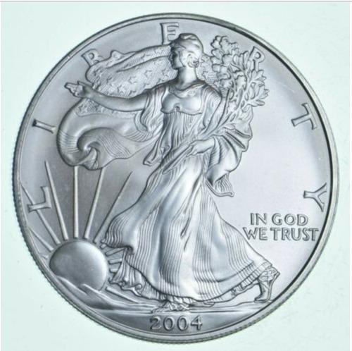 Moneda americana de 1 onza de plata - aguila de plata