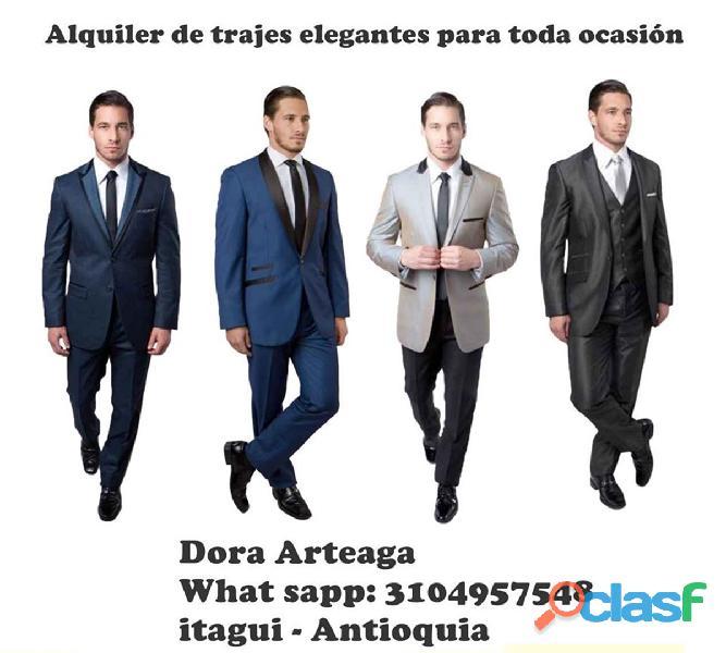 * Alquiler de trajes económicos de hombre para toda ocasión