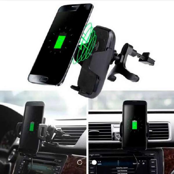 Cargador inalámbrico para carro con tecnología ql