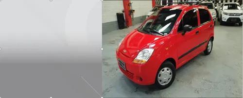 Chevrolet spark life rojo 2014