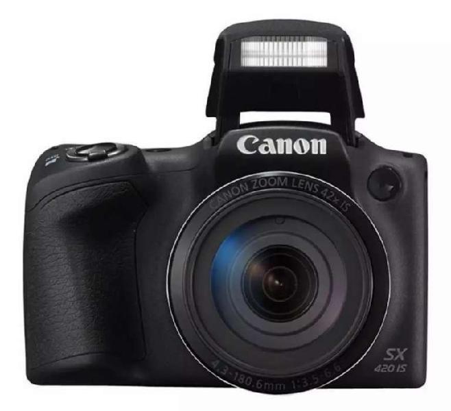 Cámara Canon PowerShot SX420 IS - 20 Mpx - Zoom Óptico 42x