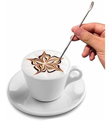 Lápiz barista arte latte - maquina cafe espresso - barismo