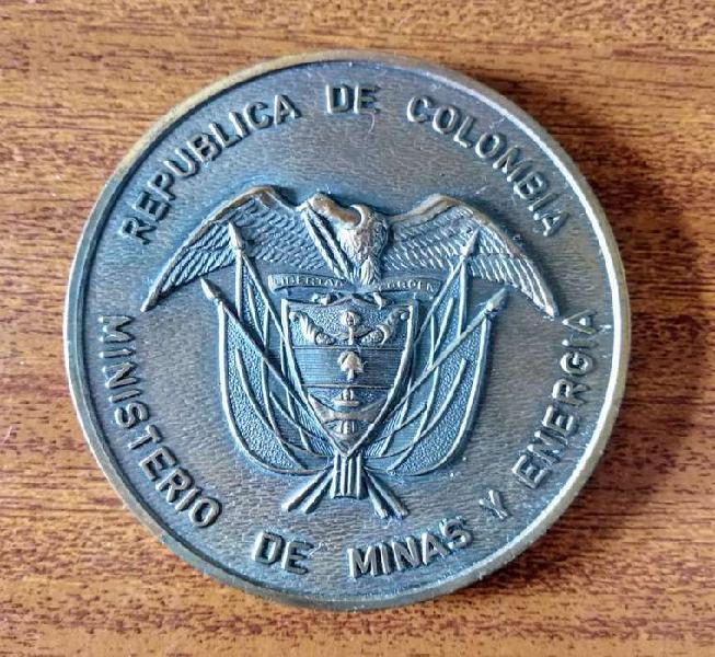 Medalla bronce - república de colombia - ministerio de