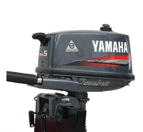 Motor fuera de borda yamaha 2t 5hp 5cmhs