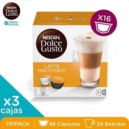 Nescafé® dolce gusto® latte macchiato x 3 cajas