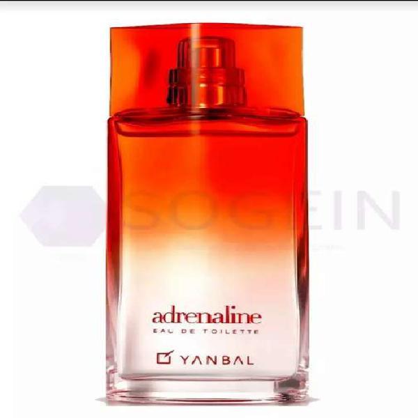 Perfume adrenalina yanbal mujer