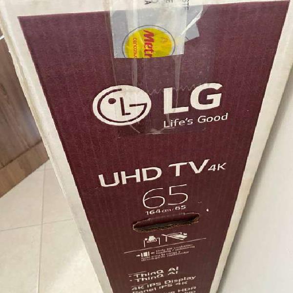 "Vendo tv nuevo 65"" lg pantalla rota"