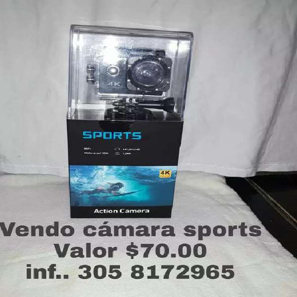 Vendo cámara sports digital