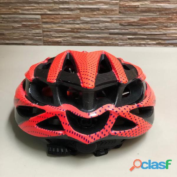 Casco bicicleta gw montana ruta naranja talla s economico mtb