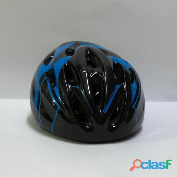 Casco Bicicleta Montana Ruta Negro   Azul Talla M Economico 3