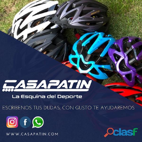 Casco Bicicleta Montana Ruta Negro Rojo Talla M Economico 5