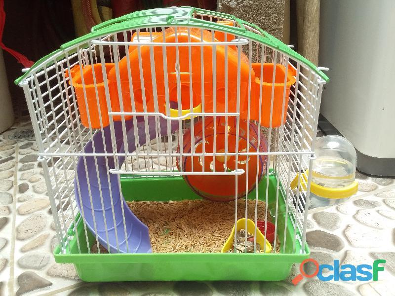 linda jaula para hamster