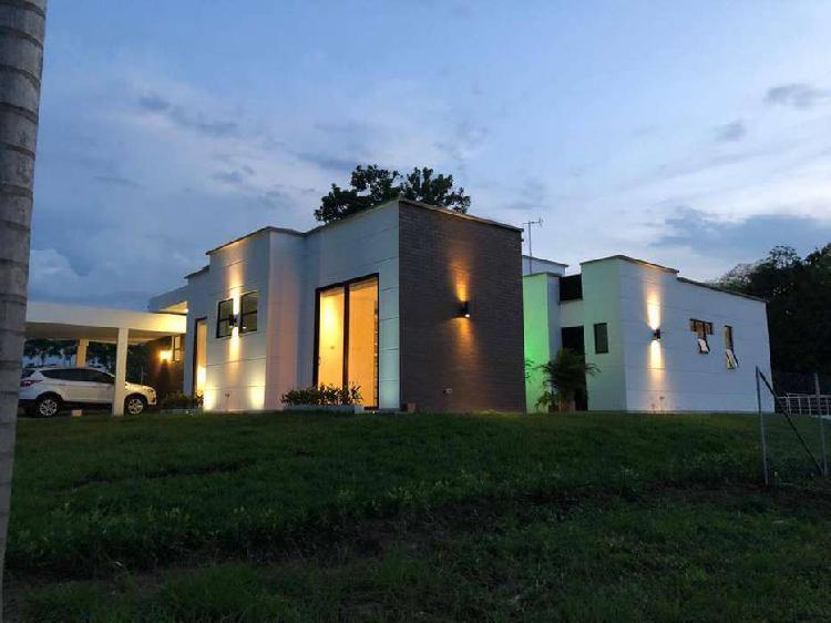Hermosa casa campestre en cerritos