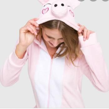 Pijama enterizo rosa