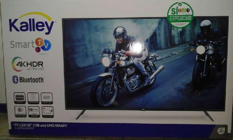 Televisor smart tv 55 pulgadas kalley uhd 4k