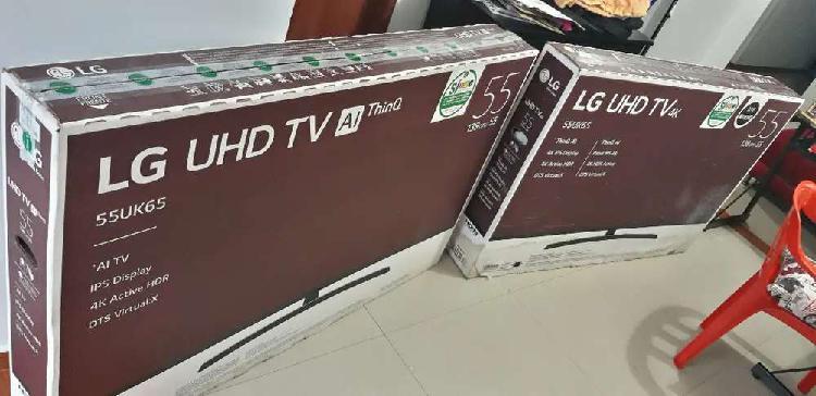 "Tv lg uhd 55"" con pantalla rota"