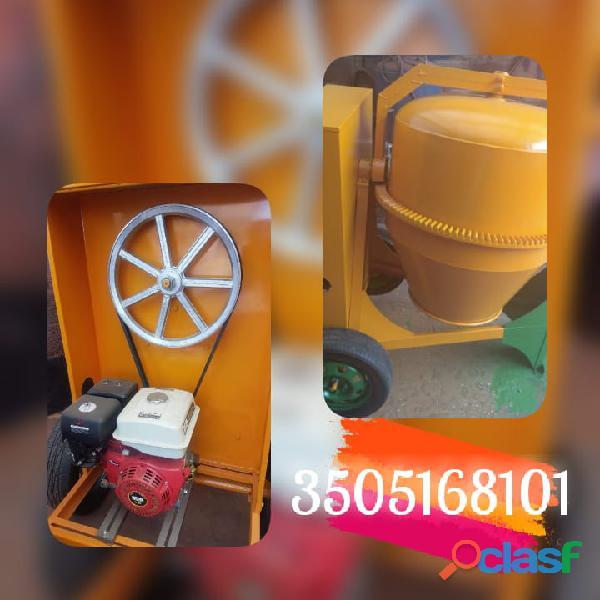 Mezcladoras con motor diésel gasolina y eléctrico