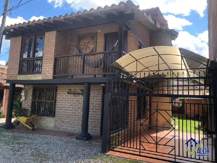 Casa campestre para la venta en vía rionegro _ la ceja _