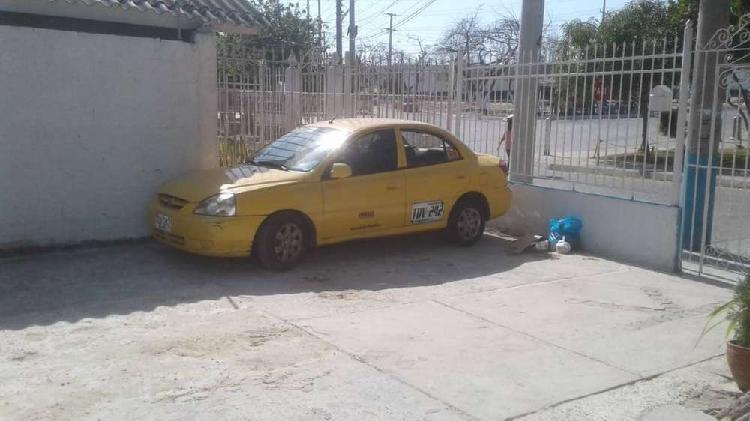Taxi kia rio 2012