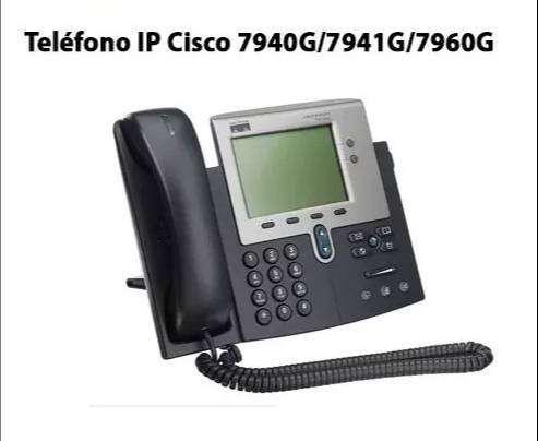 Teléfono ip cisco 7960g - sin adaptador