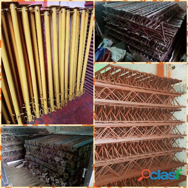 Estructura metálica de construcción