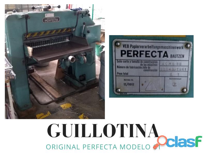 Guillotina Original Perfecta