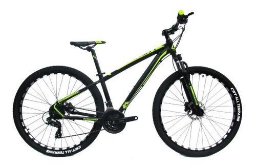 Bicicleta fusión aluminio hidraulica 24 vel shimano bloqueo