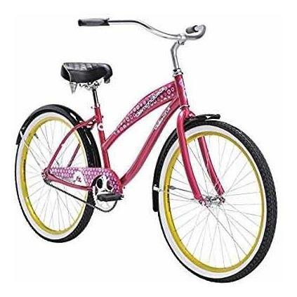 Bicicleta playera diamond back della cruz 26