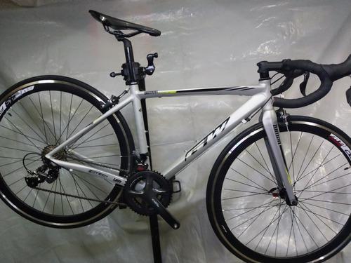 Bicicleta ruta gw lumen talla s shimano claris