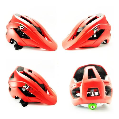 Casco bicicleta mtb cairbull fox + obsequio ciclismo