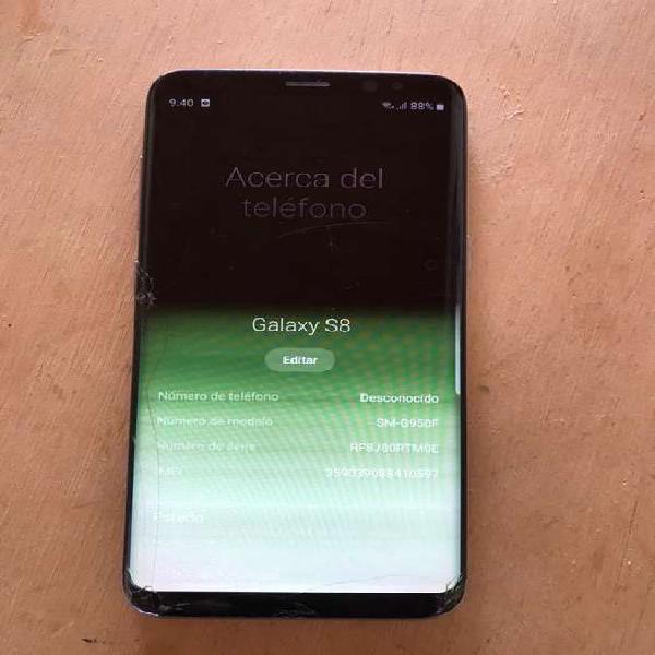 Galaxy s8 pantalla rota