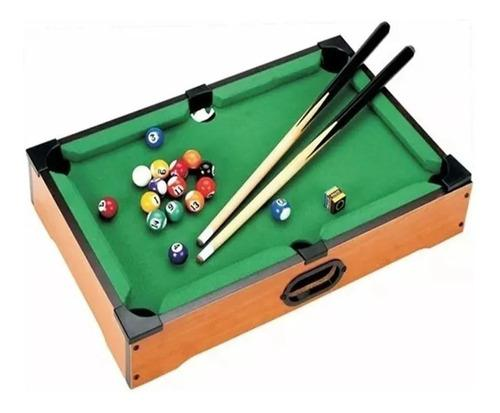 Juguete mini billar pool juego de mesa billar