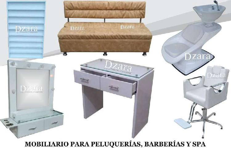 96disintguida fabrica muebles peluquería, barbería,