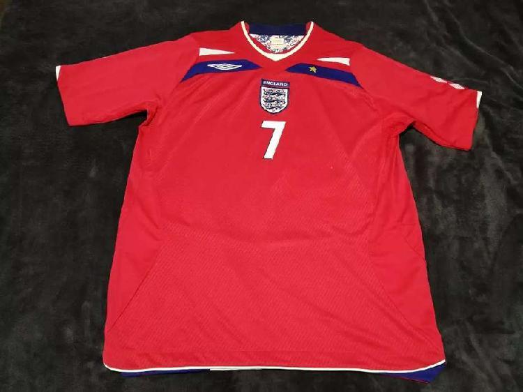 Camiseta selección inglesa david beckham